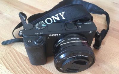 Sony A6300 4K APS-C Systemkamera